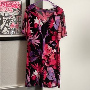 Connected Apparel Pullover Dress